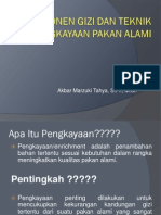 4. Komponen Gizi Dan Pengkayaan