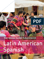 36.the Rough Guide Latin American Spanish Phrase Book