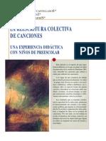 Alvarado La Reescritura Colectiva de Canciones