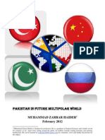 Pakistan in Future Multi Polar World by Muhammad Zarrar Haider