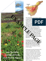 Real Tenerife Island Walks Example Pages