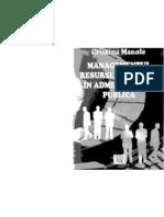Managementul Resurselor Umane in Ad Mini Strati A Publica