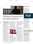 Children's homes face an insecure future