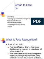 Intro Face Detect Recognition