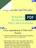 (2) PAL Encoder and Decoder