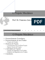 O projeto mecânico