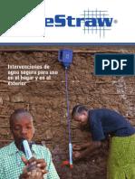 Lifestraw Info in Spanish