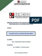 54059488 Monografia Liquidacion de Obra SENCICO