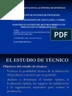 V. Estudio Tecnico I