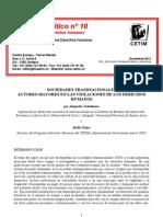 Las Transnacionales Principales as de Ddhh Alejandro Titelbaun