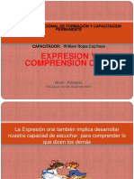 Expresion y Comprension Oral