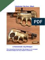 A Knuckle Duster Zip Gun