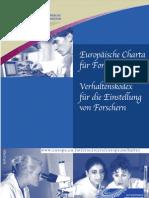 European Charter for Researchers De