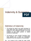 Indemnity & Guarantee 1