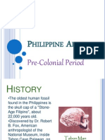 Phil Precolonial Art