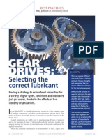Best Practice 10.Lubricant Selection for Gears