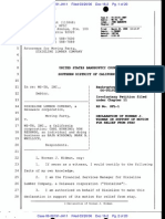 WS TH  Bankrutpcy - Declaration filed by Dixie Fiancial person