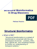 Strctural Bioinfo in Drug Design-passino