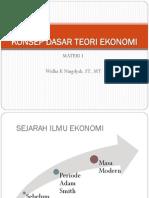 Pe1 Konsep Dasar Teori Ekonomi