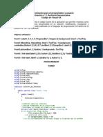 Archivos Secuenciales c# Documentacion