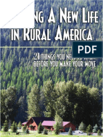 Ragnar Benson Starting a New Life in Rural America 21 Things You Need to Know Before You Make Your Move