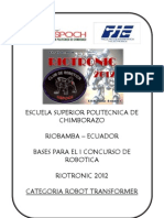 to Transformer Riotronic2012