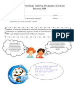 Guía de aprendizaje Historia NB4 para portafolio