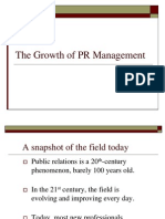 PR Management Lecture