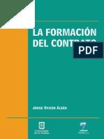 La formación del contrato. Tratos preliminares, oferta, aceptación