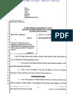 Declaration of Steve Tanabe--Freeman v ABC Legal Services Inc (09!19!2011)
