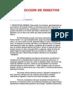 RECOLECCION DE INSECTOS