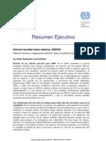 Informe Mundial Sobre Salarios, 2008-2009