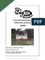 Proyecto Crecimiento Turismo Rural LIncha Hugo