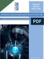 Sistemi za obrazovanje smješe kod OTO motora-Seminarski rad