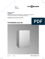 Vitodens 222-W Montage, Service