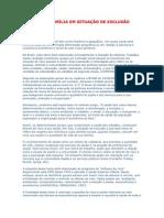 A SAÚDE DA FAMÍLIA EM SITUAÇÃO DE EXCLUSÃO SOCIAL