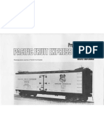 Prototype Modeler Pacific Fruit Express R-30-13 Kit