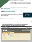 Informativo para EDITAR páginas no Google Sites