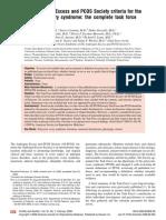Sd PQO y Androgenos
