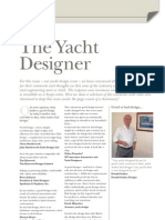 Yacht Designer Survey