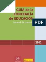 GUÍA DE LA CONCEJALÍA DE EDUCACIÓN