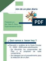 Redaccion Plan Diario Importantisimo