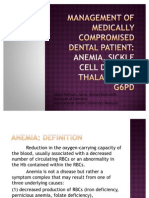 Dental Management for Medically Compromised Patient