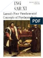 Reading Seminar XI Lacan 039 s Four Fundamental Concepts of Psychoanalysis the Paris Seminars in English Suny Series in Psychoanalysis and Cultur