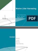 Marine Litter Harvesting _ project