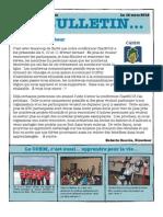 Bulletin Mars 2012