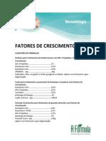 FATORES DE CRESCIMENTO_FÓRMULAS