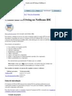 Criando Uma GUI Swing No NetBeans IDE - Tutorial