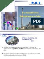 presentación estadísticas energéticas en cuba energía