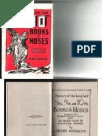 8th, 9th & 10th Books of Moses - Henri Gamache